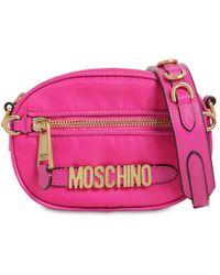 Moschino - Logo Nylon Camera Bag - Lyst