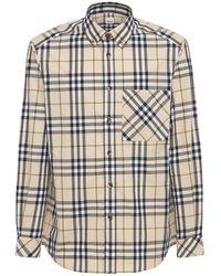 Burberry Causey コットンポプリンシャツ - マルチカラー