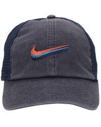 Nike Кепка С Логотипом Swoosh - Синий