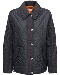 Burberry Стеганная Куртка Levenham - Черный
