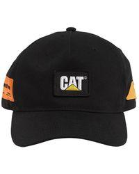 Heron Preston Cat Patch Cotton Baseball Cap - Black