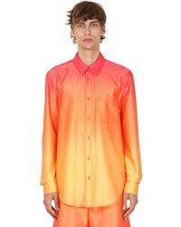 Sies Marjan Stretch-hemd Mit Druck - Mehrfarbig