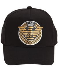 93ba38190a Logo Cotton Baseball Hat - Black