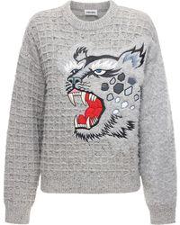 KENZO Pullover Aus Wolle - Grau