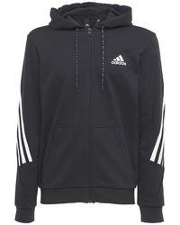 adidas Originals フレンチテリースウェットフーディー - ブラック