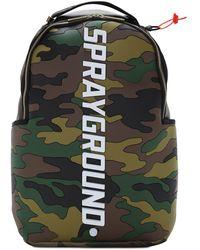Sprayground Bodyguard Logo Camo Backpack - Multicolour