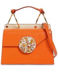 Danse Lente Patent Phoebe Bis Bag - Orange