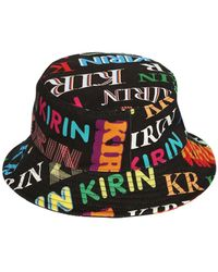Kirin Printed Cotton Denim Bucket Hat - Mehrfarbig