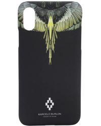 Marcelo Burlon Iphone X テクノ携帯ケース - ブラック