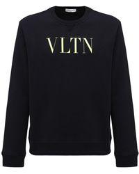Valentino - コットンブレンドスウェットシャツ - Lyst