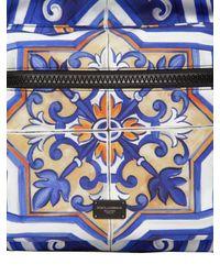 Dolce & Gabbana ナイロンバックパック - ブルー