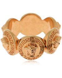 Versace - Ring Mit Medusa - Lyst