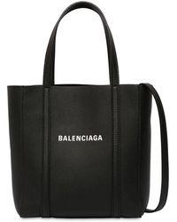"""Balenciaga Tote Aus Leder """"xxs Every Day"""" - Schwarz"""