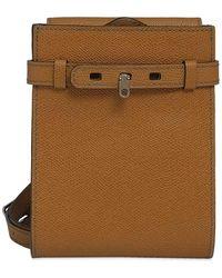 Valextra New Small Brera Cross Body Bag - Brown