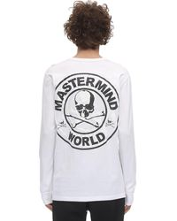 MASTERMIND WORLD ジャージーtシャツ - ホワイト
