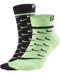 Nike スニーカーソックス - グリーン