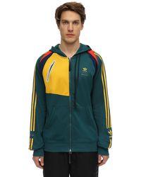adidas Originals Bed J.w. Ford Zip-up Sweatshirt Hoodie - Green