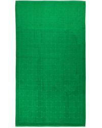 Bottega Veneta - Пляжное Полотенце Из Хлопка С Принтом - Lyst