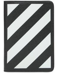 Off-White c/o Virgil Abloh - Кожаная Обложка Для Паспорта - Lyst