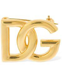 """Dolce & Gabbana Brosche """"dg Pop"""" - Mettallic"""