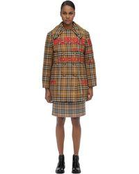 Burberry Хлопковая Куртка На Пуху - Многоцветный
