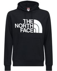 "The North Face Hoodie Aus Baumwollfleece ""standard"" - Schwarz"