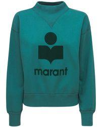 """Étoile Isabel Marant Sweatshirt Aus Jersey """"moby Mock"""" - Grün"""