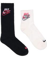 Nike Спортивные Носки 2 Пары - Многоцветный