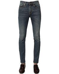 Saint Laurent 15.5cm Jeans Aus Denim - Blau