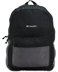 Columbia Mochila Plegable De Nylon 21l - Negro