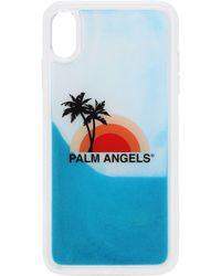 Palm Angels Iphone Xs Max ケース - ブルー