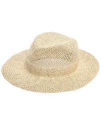 Scha - Chicago Big D Straw Hat - Lyst