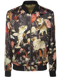Etro Куртка С Цветочным Принтом Tiger - Многоцветный