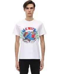 Stella McCartney T-shirt Aus Baumwolle Mit Druck - Weiß