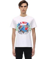Stella McCartney Handle With Care コットンtシャツ - ホワイト