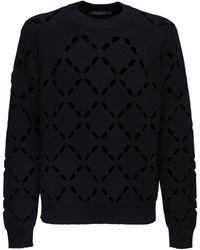 Versace - ウールニットセーター - Lyst