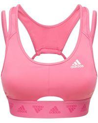 adidas Originals Bh-top Mit Ausschnitt - Pink