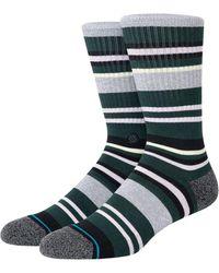 Stance Shay Cotton Blend Crew Socks - Green