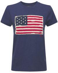 Polo Ralph Lauren American Flag コットンtシャツ - ブルー