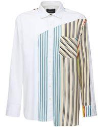 BOTTER コットンポプリンシャツ - ホワイト