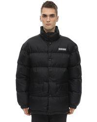 Napapijri Ari Insulated Nylon Taffeta Jacket - Black