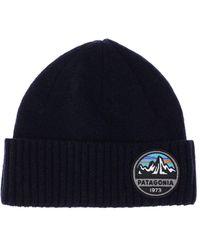 Patagonia Brodeo ビーニー帽 - ブルー