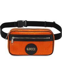 Gucci Сумка На Пояс Из Econyl - Оранжевый