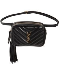 Saint Laurent - Lou Quilted Leather Belt Bag - Lyst