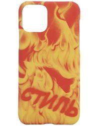 Heron Preston Iphone 11 Pro ケース - オレンジ