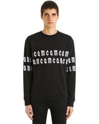 McQ - Mcq Embroidered Cotton Sweatshirt - Lyst