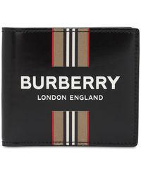 Burberry Бумажник Icon Stripe - Черный