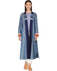 Forte Forte - Manteau Style Kimono En Jacquard - Lyst