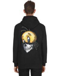 DOMREBEL Birdie Sweatshirt Hoodie - Black
