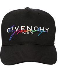 """Givenchy Бейсбольная Кепка """"rainbow"""" - Черный"""